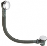 Chrome Brass Bath Clicker Click Clack Waste and Overflow - 72000201